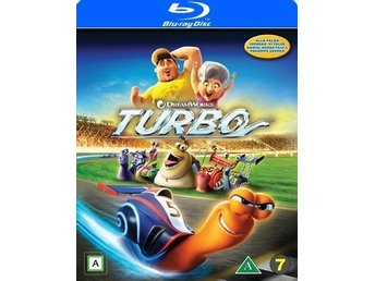 Turbo- Ny- Inplastad- Blu-ray + dvd