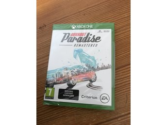 Burnout paradise remastered. Nytt inplastad xboxone