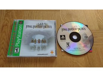 PlayStation/PS1: Final Fantasy Tactics (AMERIKANSKT)