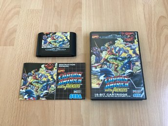Captain America And The Avengers CIB - Sega Mega Drive