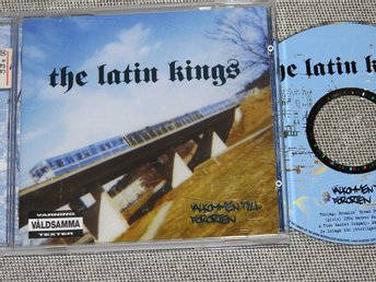 The Latin Kings - Välkommen Till Förorten CD