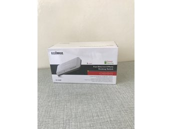 Xion ES-3208P Edimax 8 Port Fast Ethernet Switch with Power Saving Feature