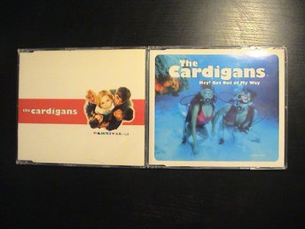 THE CARDIGANS / 2 x CD Singlar / Carnival 3-trk + Hey! Get Out Of My Way 3-trk