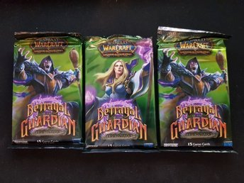 3st World of Warcraft TCG Kort -Betrayal of the Guardian Booster Pack