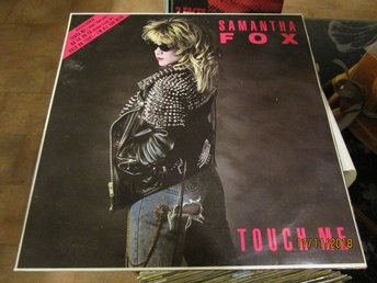 SAMANTHA FOX - TOUCH ME - LP