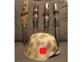 WW2 Tysk hjälm M42 SD Waffen-SS Camouflage Tred.. (331008425) ᐈ Köp ... 678d11f78fef6
