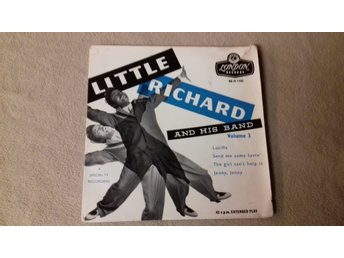LITTLE RICHARD - EP - Volume 3 - LONDON RECORDS - Made in England - Skivomslag