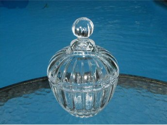 ***LOCKASK I TRANSPARENT GLAS***