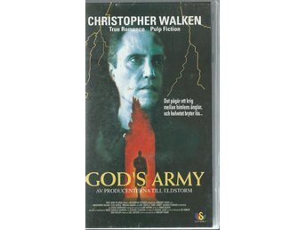 GOD´S ARMY - CHRISTOPHER WALKEN   (SVENSKT-VHS FILM !!)