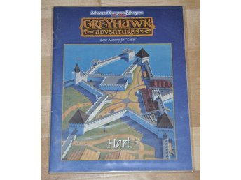AD&D TSR 1056 Game Accesory for Castles - Hart