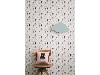 Ferm Living Tapet - Kite Rose - Mysig Barntapet