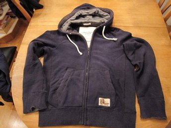 Abercrombie and fitch sweatshirt  blå  stl. L