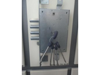 LÅS FIAM 648 High Security Re-Programmable  Lock For Armored Doors With 5 Keys