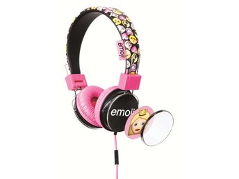 EMOJI Hörlur Flip 'N Switch Rosa On Ear Universal 85dB