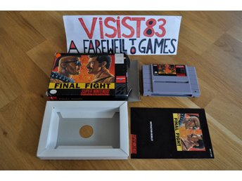 Final Fight - komplett USA/NTSC
