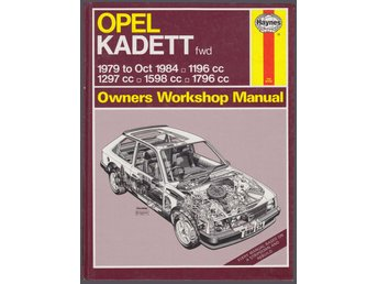 ** OPEL KADETT ** 1979 to oct. 1984 ** HAYNES REPARATIONSHANDBOK **