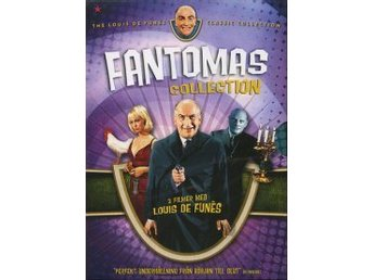 Fantomas Collection boxset (3-disc) - DVD-BOX - Utgått