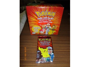Topps Pokemon Booster Pack TV Animation Edition International