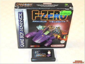 F-Zero: Maximum Velocity (GBA)