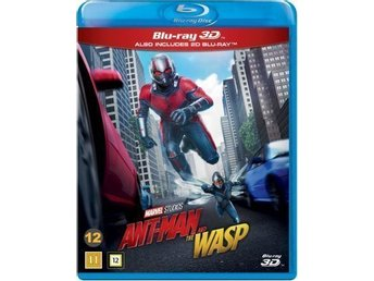 Ant-Man and the Wasp (3D Blu-ray + Blu-ray) - Nordiskt omslag Helt ny!