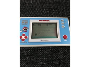 Game&Watch - Super mario bros (blått spel)