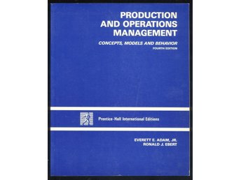 Production and operations management.