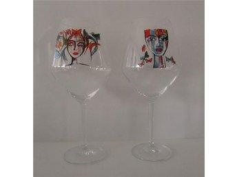 Carolina Gylling / två vinglas - Nacka - Carolina Gylling / två vinglas - Nacka