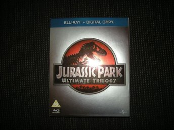 Bluray Jurassic Park Ultimate Trilogy 6 Skivor! - Limhamn - Bluray Jurassic Park Ultimate Trilogy 6 Skivor! - Limhamn