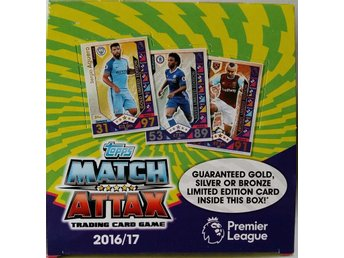 2016-2017 Topps Match Attax Premier League Nordic Edition Box