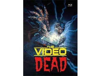 The Video Dead & Zombie High (1987) 2x KULTSKRÄCK! Blu-ray - RARE UNCUT