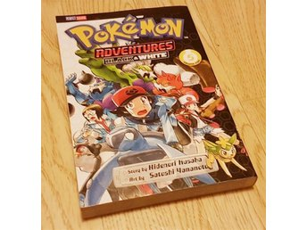 POKEMON ADVENTURES - BLACK & WHITE VOL. 5 - MANGA BOK