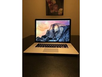 "MacBook PRO 15"" RETINA* 512GB SSD* 16GB RAM* Nvidia GeForcE* i7 QC 2.6GHz"
