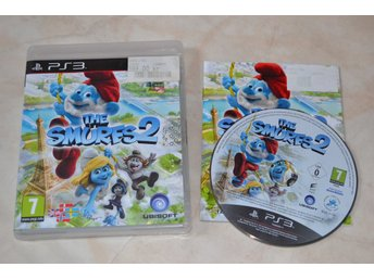 The Smurfs 2 PS3 Playstation 3 Komplett Fint Skick