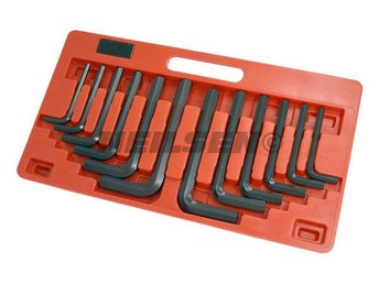 "12 pcs ALANS KEY HEX JUMBO WRENCH SET SIZE 8 - 19MM HEXSAGON 3/8"" 3/4"""