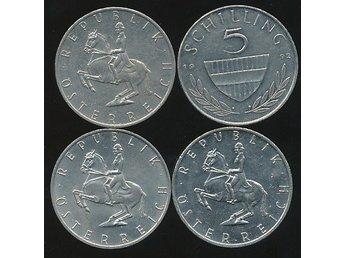 Austria 5 Shilling 1992 - Västra Frölunda - Austria 5 Shilling 1992 - Västra Frölunda