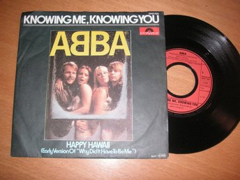 ABBA Knowing me, knowing you Tysk 45/ps 1977