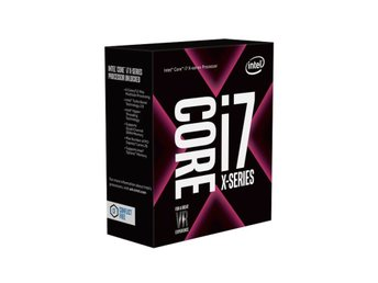 Intel Core i7-7800X - 12 Trådar / 3,5GHz (4,0GHz) / 8.25MB