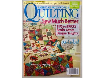 """AMERICAN PATCHWORK & QUILTING"""