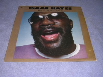 Isaac Hayes - New Horizon LP-omslag USA-orginal i EX