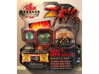 Bakugan Gandalian Invaders - Bakugan Super Assault + 3 st kort