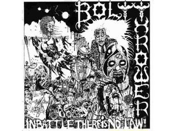Bolt thrower -In battle there is no law lp black vinyl w/gat