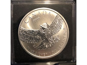 "Birds of prey ""Owl"" 1 oz .9999 2015"