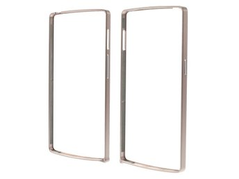 Aluminium Alloy Backless Bumper Shell Oneplus One - Roseguld