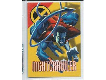 MARVEL X-MEN  SAMLARKORT - NIGHTCRAWLER