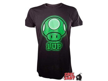 Nintendo Super Mario 1-Up T-Shirt (Large)