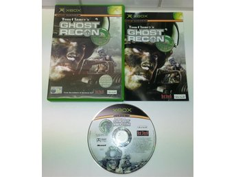 XBOX spelet ** Tom Clancy's, Ghost Recon ** ** KOMPLETT  **
