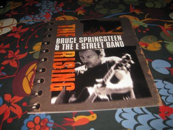 "BRUCE "" BOSSEN "" SPRINGSTEEN & THE E-STREET BAND THE RISING PRGRAM"