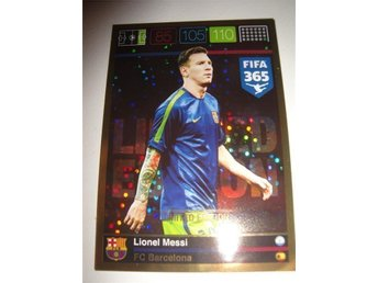 Panini Adrenalyn XL FIFA 365 - Limited Edition - LIONEL MESSI - FC Barcelona
