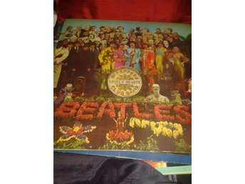 LP The Beatles lonely hearts club band