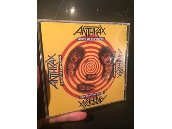 Anthrax - State Of Euphoria METAL CD